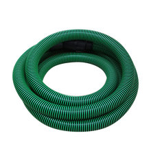Recover dust anti-static green plastic pipe