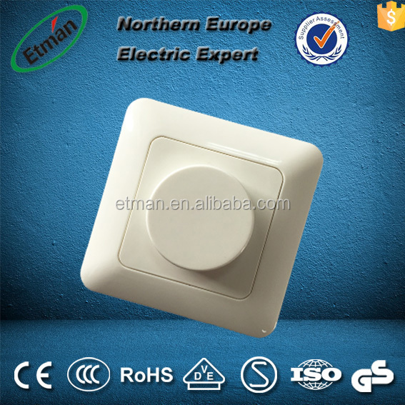 High Quality European Style digital led dmx dimmer switch