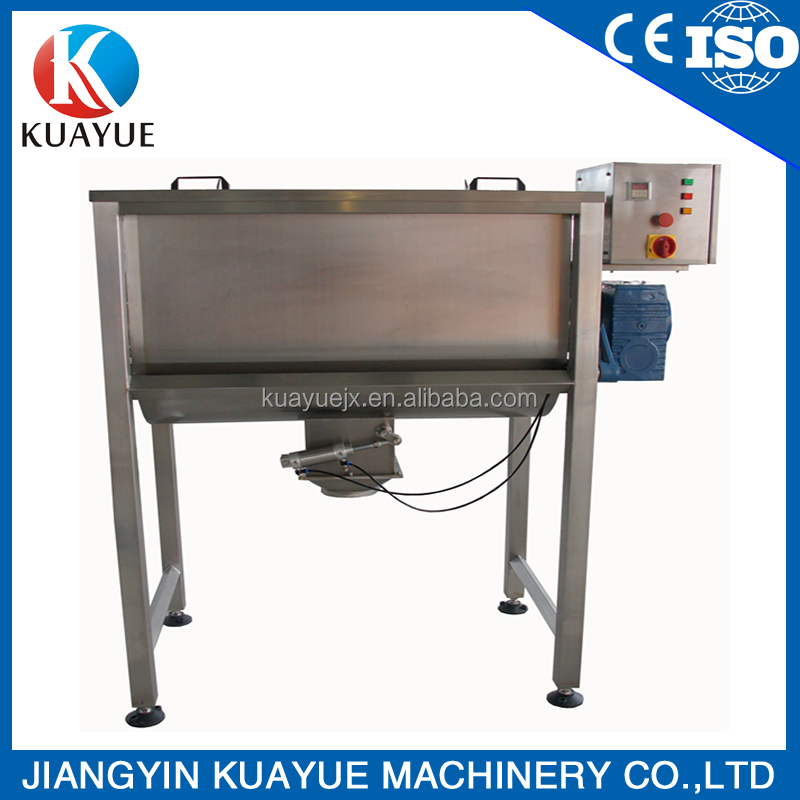 Spice powder ribbon mixer blender machine