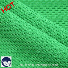 Changxing factory bargain price knitted fabric bird eye mesh fabric for football jersey / sportswear