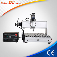 Newest sculpture wood carving CNC router machine for sale 3040T-DJ V2 ungrades from V1