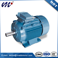 ABB Cast Iron Three phase induction QABP 250M6A electric fan motor