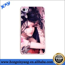 3D sublimation phone cover for iphone China factory customization phone cases Dropshipping