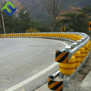 Traffic Safety use Road Roller anti-collision proof highway safety guardrail