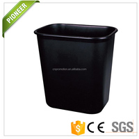 Plastic Eco-friendly Wastebasket Open Top Trash Living Room Can