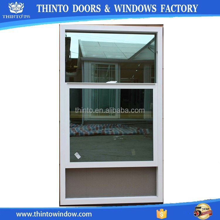 Pvc Frame High Quality Double Hung Window In China Buy