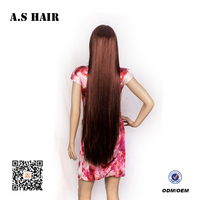 Hot sales long length Colored hairstyle for cosplay synthetic wig silky straight synthetic hair Wigs