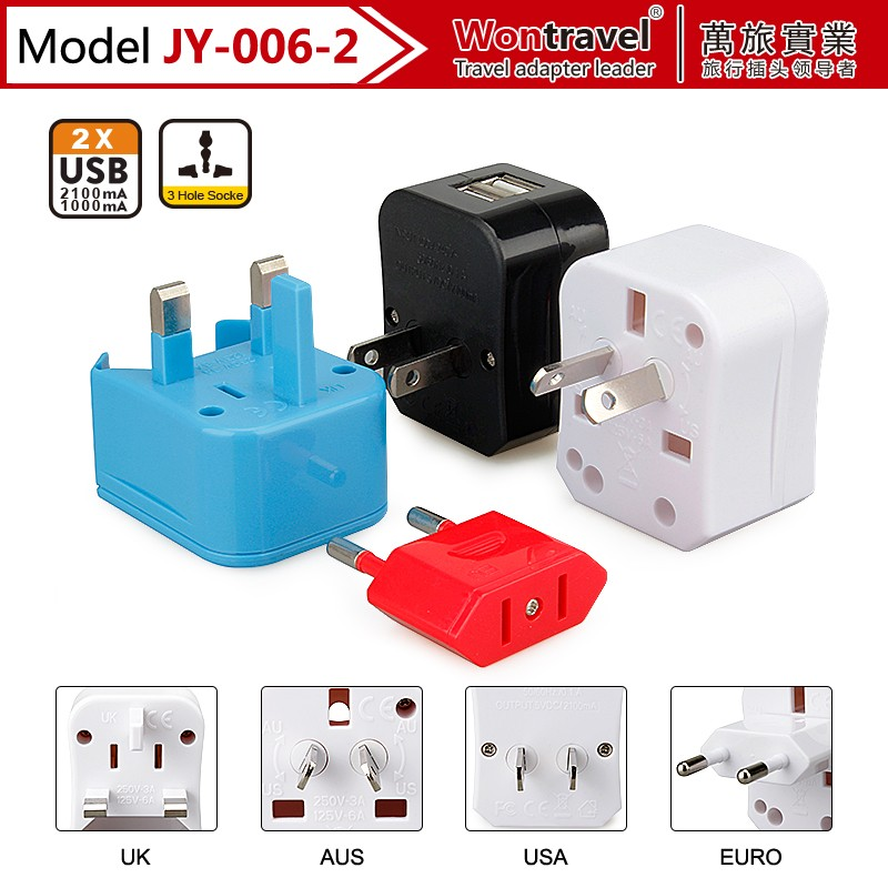 china supplier phone accessories wholesale promotional products plug-in adapter usb charger for ipad and tablet