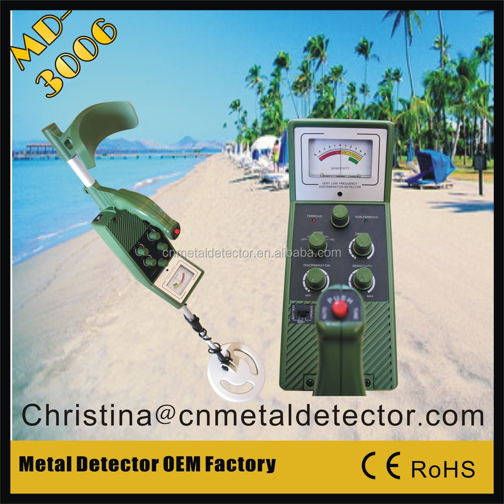 hobby underground metal detector MD3006 gold scanner machine factory