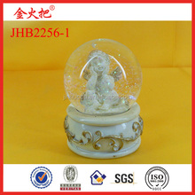 Promotional Resin angel snow globe wholesale&polyresin water globe