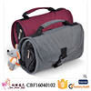 Yiwu market waterproof canvas makeup bag folding travel toiletry bag