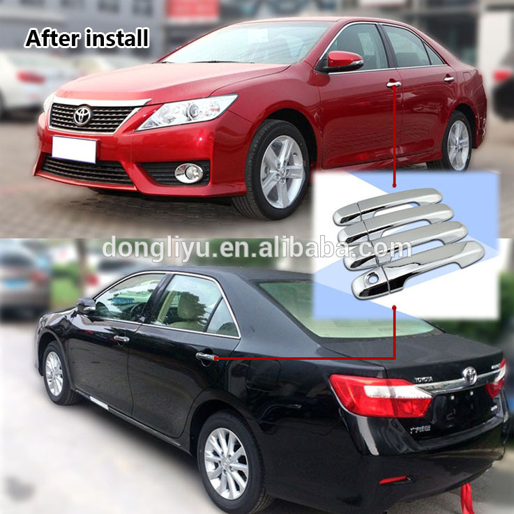 Car exterior accessories 4pcs/set chrome door handle cover for Toyota Camry