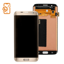 Shenzhen mobile phone spare parts lcd screen digitizer for samsung galaxy s7 edge lcd