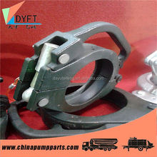 China flexible rubber coupling with flange