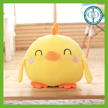 Factory wholesale super flexible you can tear it to you Hard pull it yellow chicken stuffed toys