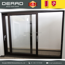 ALUK top quality sound insulation aluminium lift & slide door