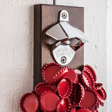 Kitchen Appliance Magnetic Corkscrew Wall Mount Beer Bottle Opener