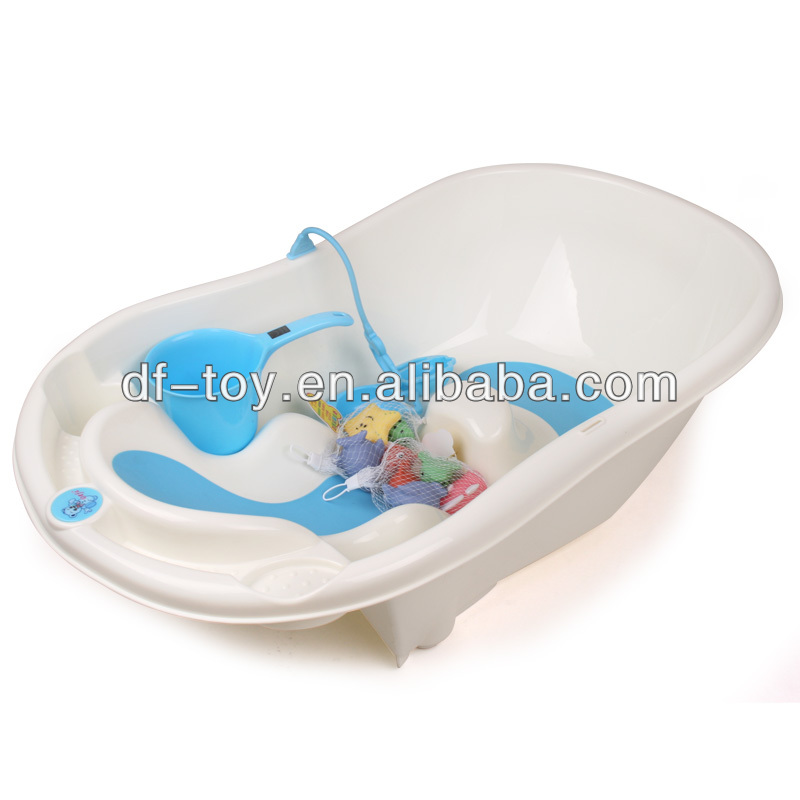 baby bathtub 2014 new design plastic big size baby bathtub with bath chair and toys buy baby. Black Bedroom Furniture Sets. Home Design Ideas