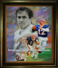 Buffalo Bills Kelly Modern Art Oil Painting 2012