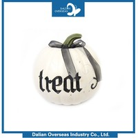 Low Price Customized New Design Home Decoration white foam craft pumpkins