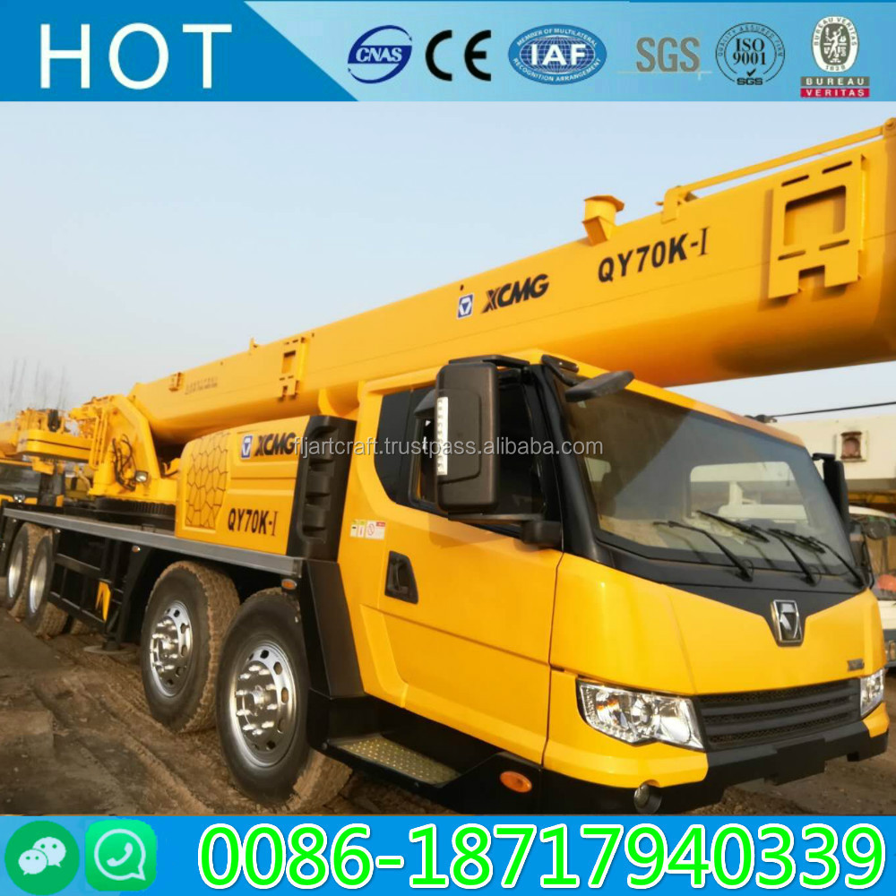 used condition XCMG 35 Ton 50 ton 70 ton truck crane , folding boom XCMG QY50K QY70K truck mounted crane for sale