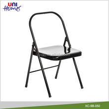 Wholesale Backless Metal Folding Yoga Chair
