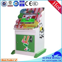 The little painter indoor kids touch game mini lottery machine
