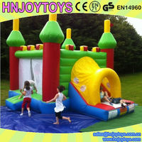 3 in 1 Combination Bouncy Castles Inflatables China for Nursery School