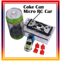 Coke Can Remote Control Car Mini Speed RC Toy Vehicles small racing car