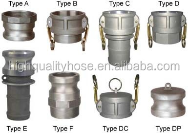 Carbon Steel Stainless Steel Aluminum Camlock Coupling
