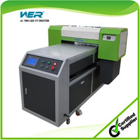 New hot sale a1 size led uv flatbed printers