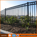 Black Garden Fence,Welded Steel Fence,Galvanized Steel Fence