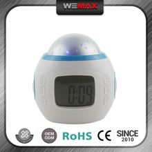 The Most Popular High Standard Custom Color Intelligent Weather Forecast Clock Radio With Analog Clock