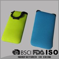 Neoprene Wallet Cell Phone Pouch For