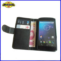 For LG Nexus 4 Case, For LG Nexus 4 E960 Leather Wallet Case,Laudtec