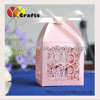 laser cut wedding gift box with ribbon- Elite Design quick process