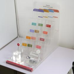 acrylic holder display stand cosmetic organizer makeup case