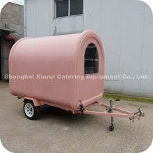 2013 Beautiful Mobile Steel Prefab Outdoor Waffle Equipment Kiosk Booth XR-FC250 B