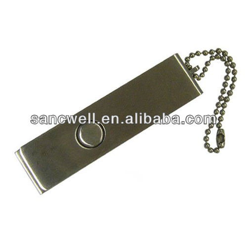 Good quality metal swivel usb pendrive, pendrive with customized