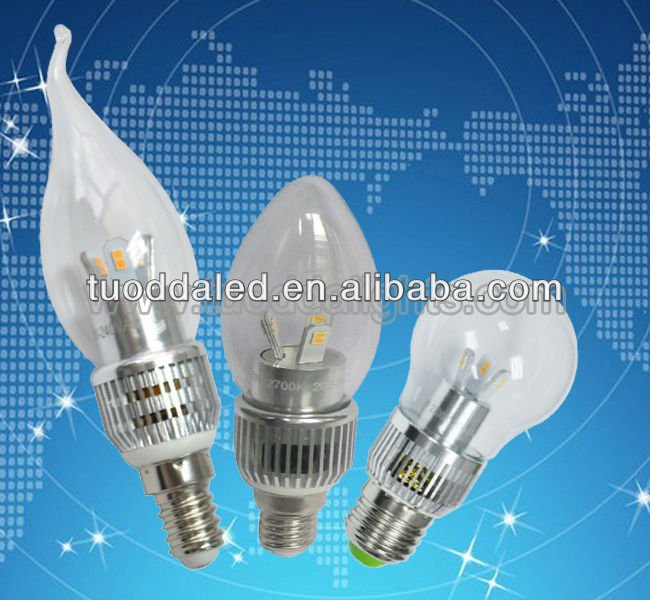 Residential 5w E14 led flicker flame candle light bulbs