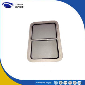 Marine Accessories Boat Used Aluminum Sliding Window
