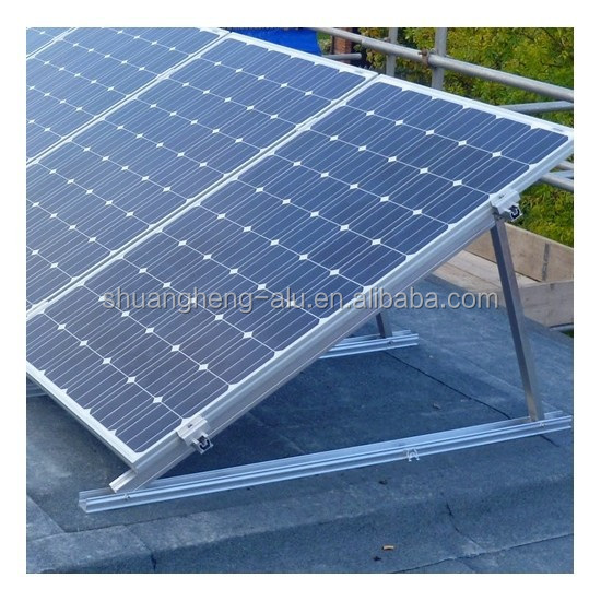 China reliable manufacturers support flat roof solar panel mounting system