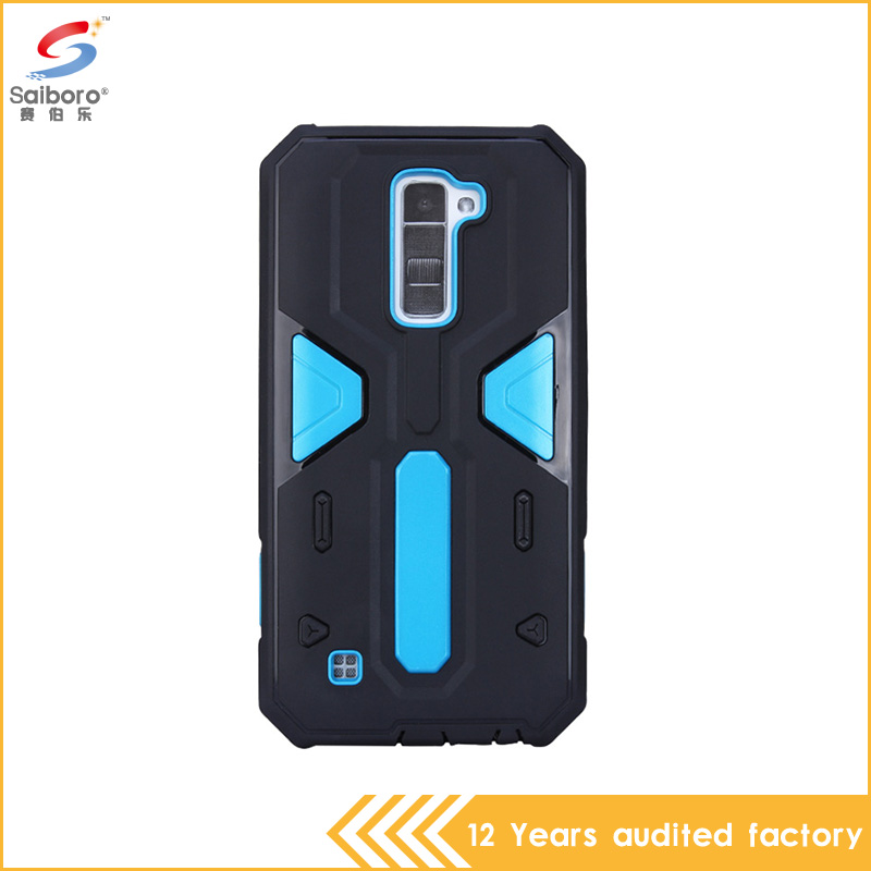 2 in 1 TPU+PC shockproof hybrid armor waterproof phone case for lg <strong>k10</strong>