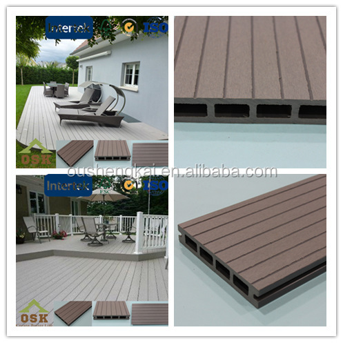 wpc wood outdoor decking material