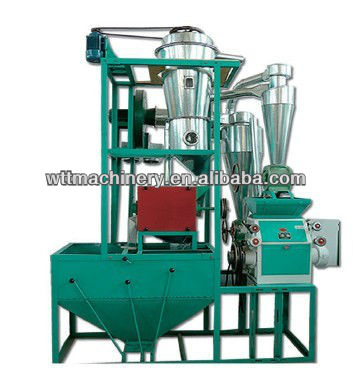 NF 350-550kg/h high quality maize mill