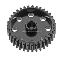 Custom steel main shaft gear for motorcycle parts