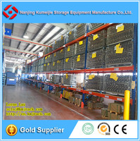 Retailers General Merchandise Warehouse Steel Beam Racking