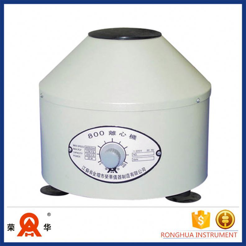 (Promotions) 800 Laboratory Low Speed Centrifuge, Cheap Centrifuge Tablet Op Gerber China Decanter Centrifuge