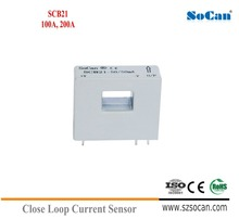 SCD6 Series Flux Gate Current Sensor 0-100mA