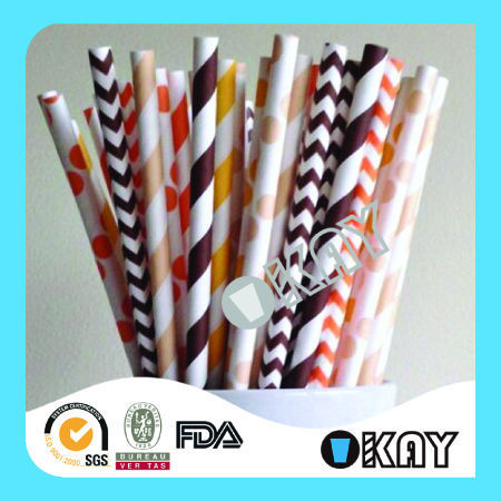 High Quality Party Theme Halloween Paper Straws